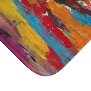 "COLOR FUSION  Bath Mat  LARGE  34 x 21""   SMALL 24"" x 17"""