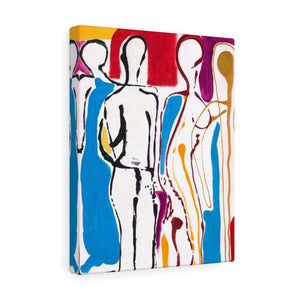 "4 BODIES Canvas Gallery Wraps  11"" x  14"""