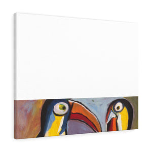 "TOUCANS  Canvas Gallery Wraps  36"" x 12"""