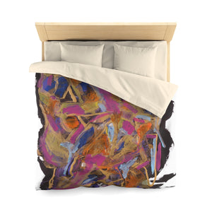 PHOENIX FROM ASHES  Microfiber Duvet Cover  QUEEN
