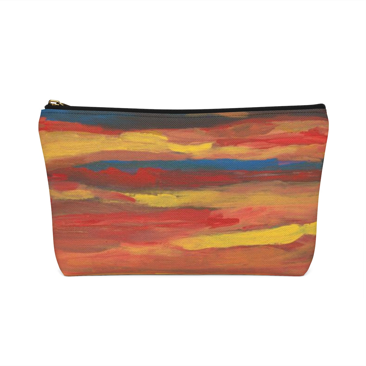 SUNRISE SUNSET Accessory Pouch w T-bottom  SMALL
