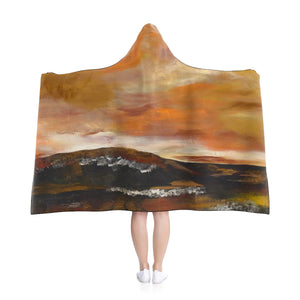 "GOLDEN VALLEY  Hooded Blanket  50"" x 40"""