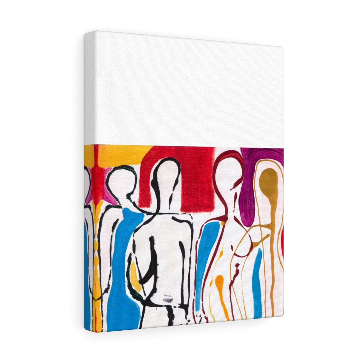 "4 BODIES Canvas Gallery Wraps   16"" x 12"""