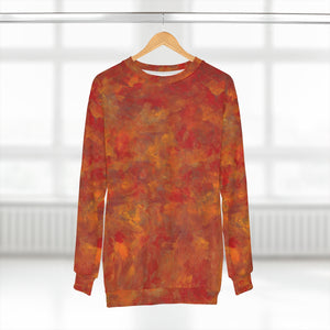 LAVA  FLOW   Unisex Sweatshirt  SIZES  XS - 2XL
