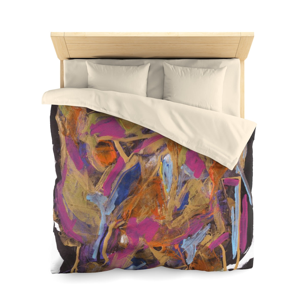 "PHOENIX FROM ASHES  Microfiber Duvet Cover  TWIN  68"" x 88"""