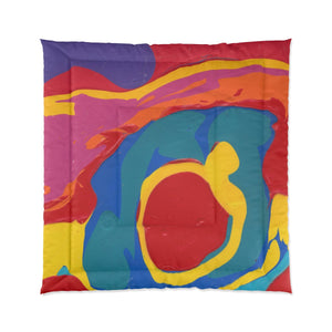 "COLOR MERGE  Comforter  88"" x  88"""