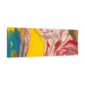 "UNDERWATER LIFE  Canvas Gallery Wraps  36"" x  12"""