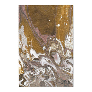 "GOLD RUSH  Area Rugs  48"" x 72"""