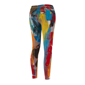 COLOR FUSION  Women's Casual Leggings SIZES  XS -  2 XL