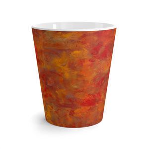 LAVA FLOW  Latte mug  12oz.