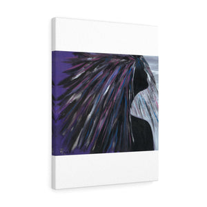 "PURPLE RAIN  Canvas Gallery Wraps  24"" x 18"""