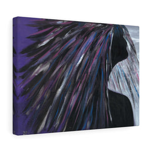 "PURPLE RAIN  Canvas Gallery Wraps  30"" x 24"""