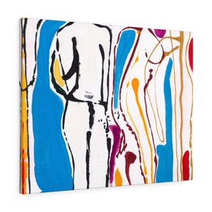 "4 BODIES Canvas Gallery Wraps  18"" x 24"""