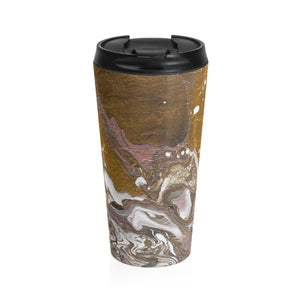 GOLD RUSH  Stainless Steel Travel Mug  15 oz.