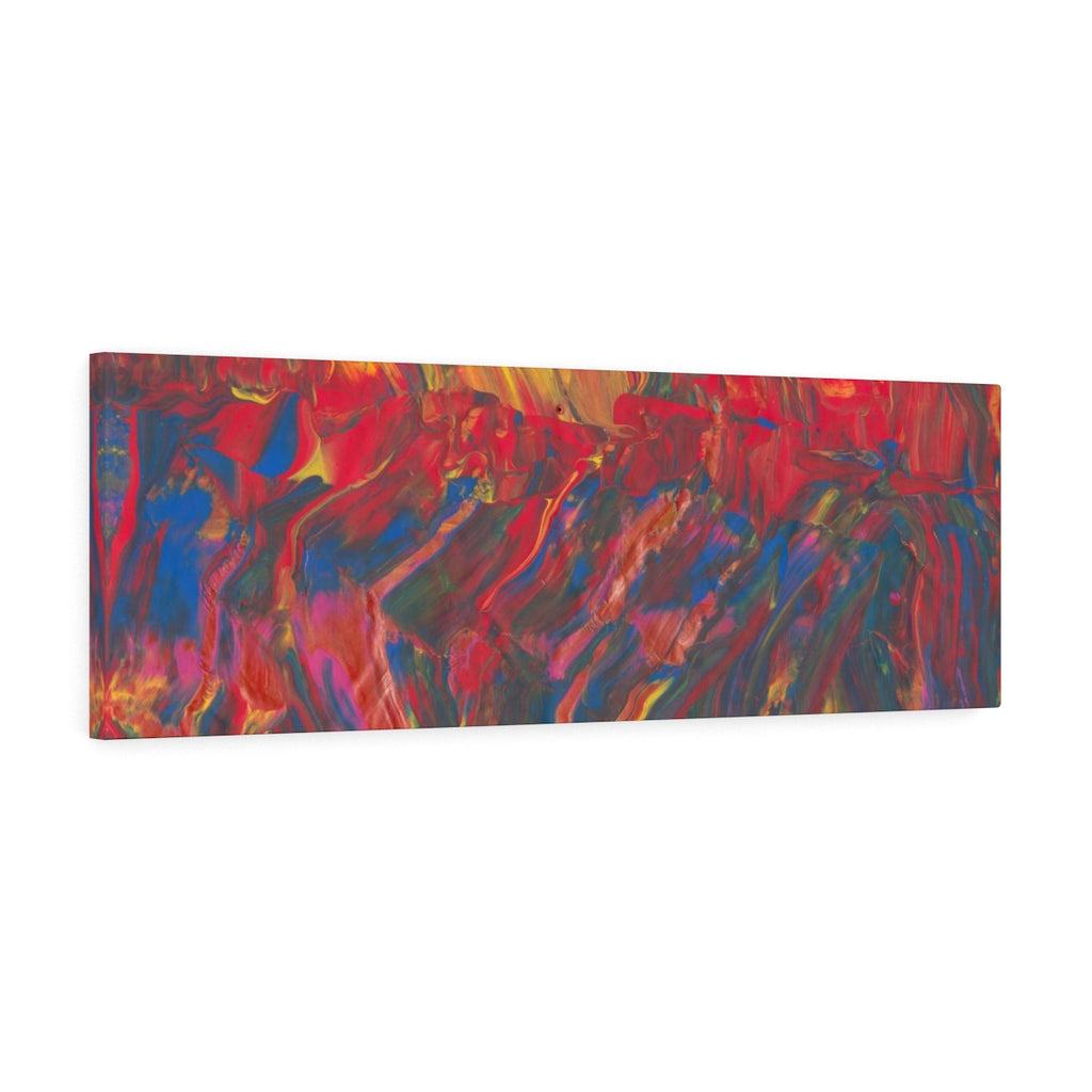 "AFRICAN DANCERS  Canvas Gallery Wraps  36"" x  12"""