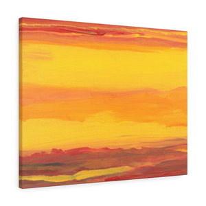 "SUNRISE SUNSET  Canvas Gallery Wraps  8"" x 10"""
