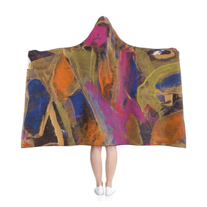 "PHOENIX FROM ASHES Hooded Blanket  80"" x 50"""