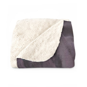 "CAVE VIEW  Sherpa Fleece Blanket  60"" x 80"""