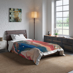 "BIRD OF PREY Comforter  104"" x 88"