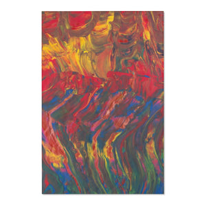 "AFRICAN DANCERS  Area Rugs  48"" x 72"""