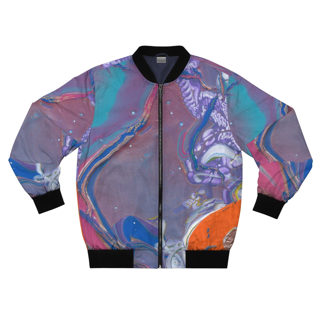 WATER UNDER LIFE 2  AOP Bomber Jacket