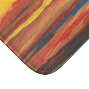 SUNRISE SUNSET  Bath Mat  SMALL  24' x  17""