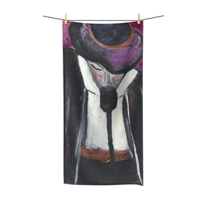 "THE ENTERTAINER Polycotton Towel  30""  X  60"""