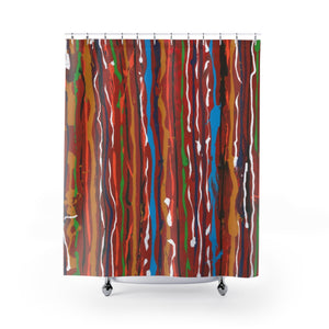 "CARNIVAL Shower Curtain   71""x 74"""