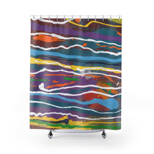 "MARDI GRAS Shower Curtain   71"" x 74"""