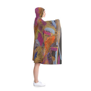 "PHOENIX FROM ASHES  Hooded Blanket   80"" x 56"""
