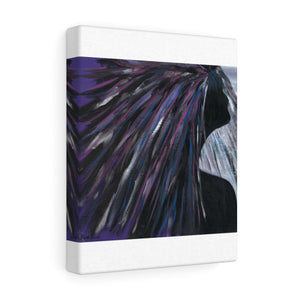 "PURPLE RAIN Canvas Gallery Wraps  14"" x  11"""