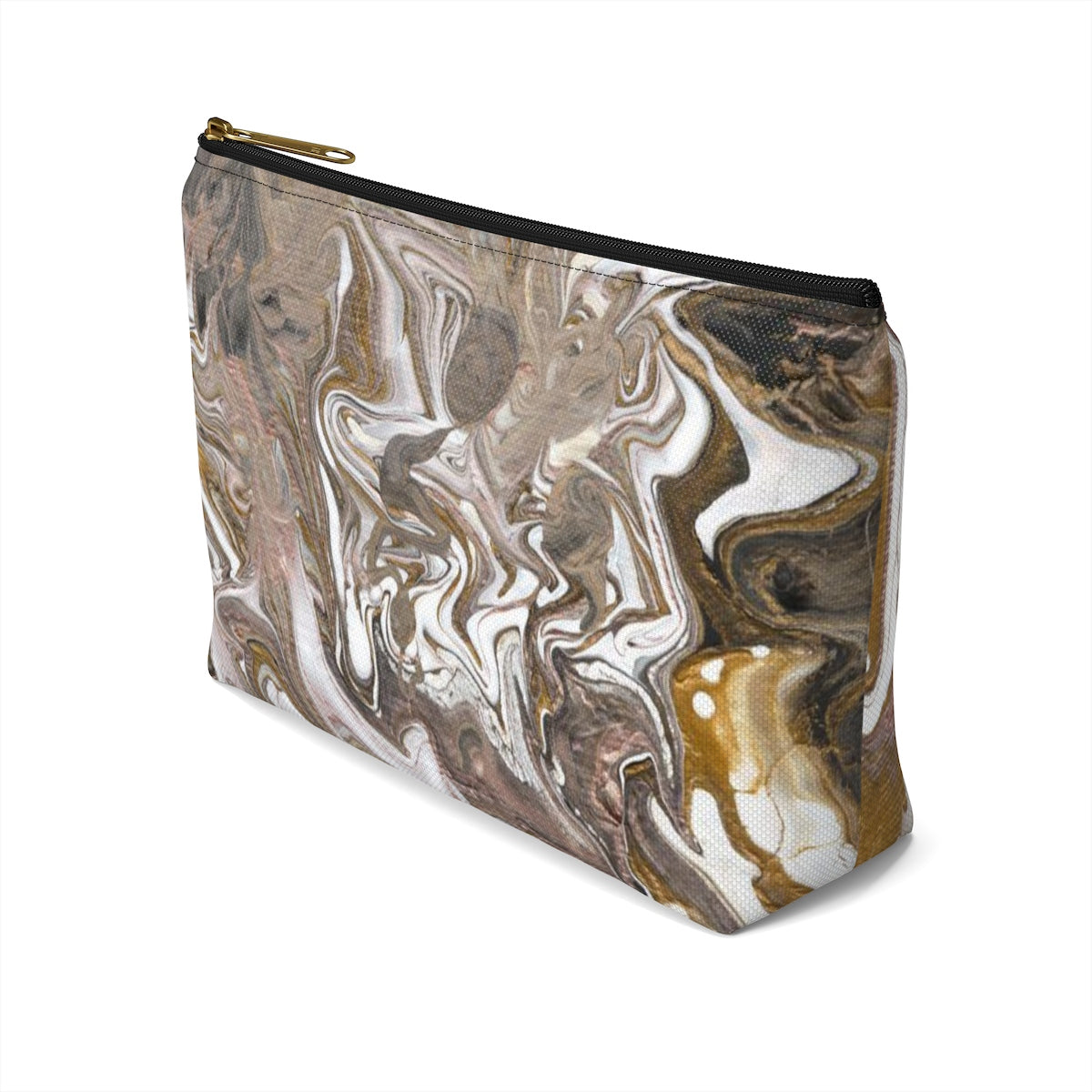 GOLD RUSH Accessory Pouch w T-bottom  SMALL