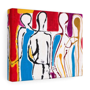 "4 BODIES Canvas Gallery Wraps    10"" x  8"""