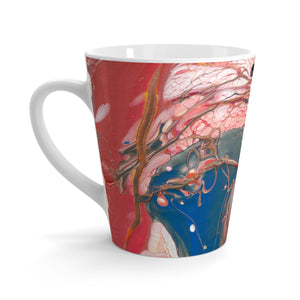 BIRD OF PREY C-Handle  Latte Mug  12 oz.