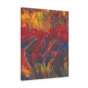 "AFRICAN DANCERS  Canvas Gallery Wraps  8"" x 10"""