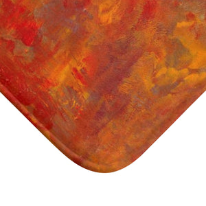 "LAVA FLOW  Bath Mat  SMALL 24""  x  17"""
