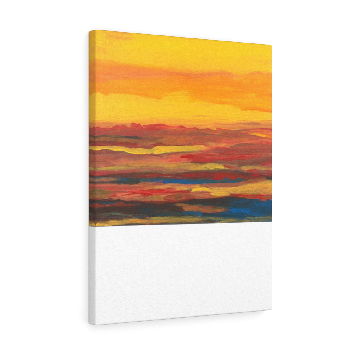 "SUNRISE SUNSET Canvas Gallery Wraps  10"" x 8"""