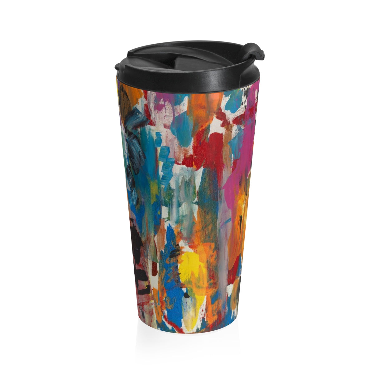 COLOR FUSION  Stainless Steel Travel Mug  15oz.