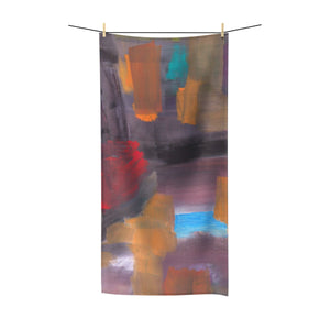 "CAVE VIEW Polycotton Towel  30""  X 60"""