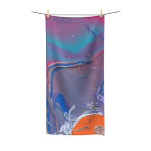 "UNDER WATER LIFE 2 Polycotton Towel   30""  x  60"""
