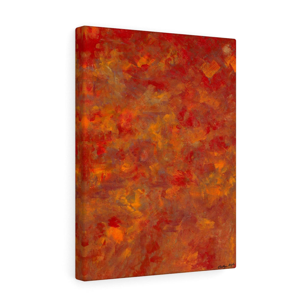 "LAVA FLOW Canvas Gallery Wraps   12"" x 16"""