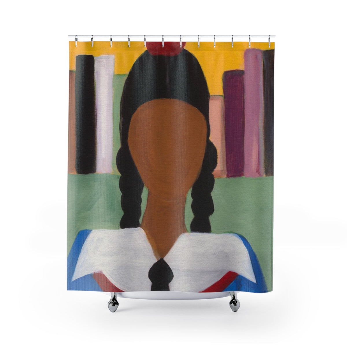 "MIS EDUCATION Shower Curtain  71"" x 74"""