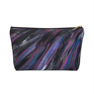 PURPLE RAIN Accessory Pouch w T-bottom  SMALL