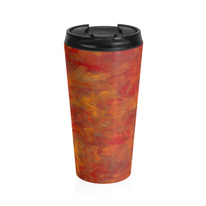 LAVA FLOW  Stainless Steel Travel Mug