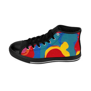 COLOR MERGE  UNISEX High-top Sneakers   SIZES 6 - 14