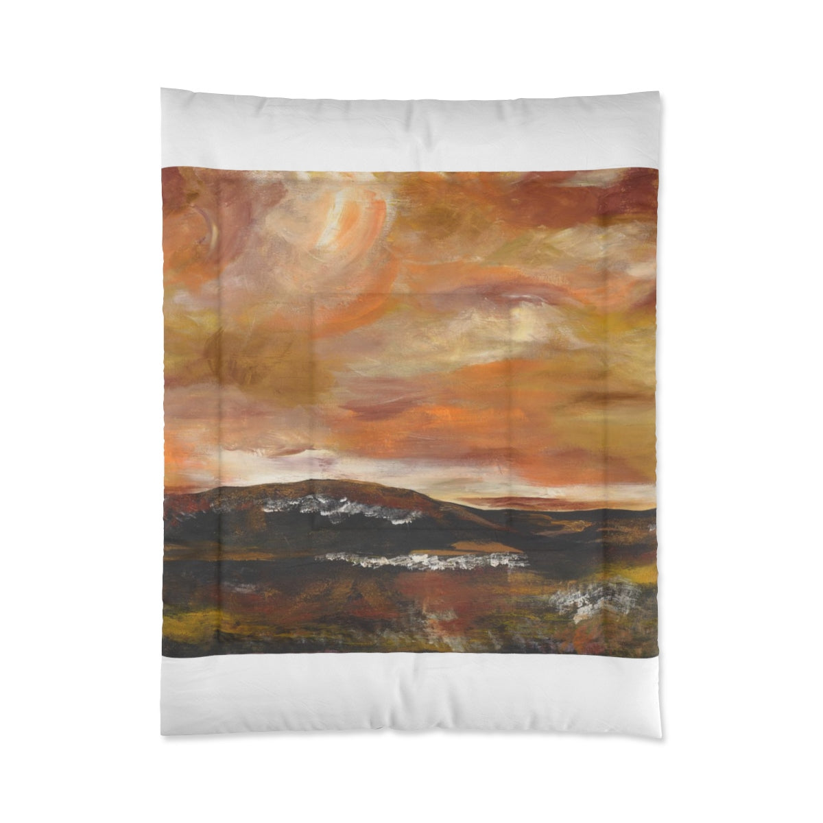 "GOLDEN VALLEY  Comforter  104"" x  88"""