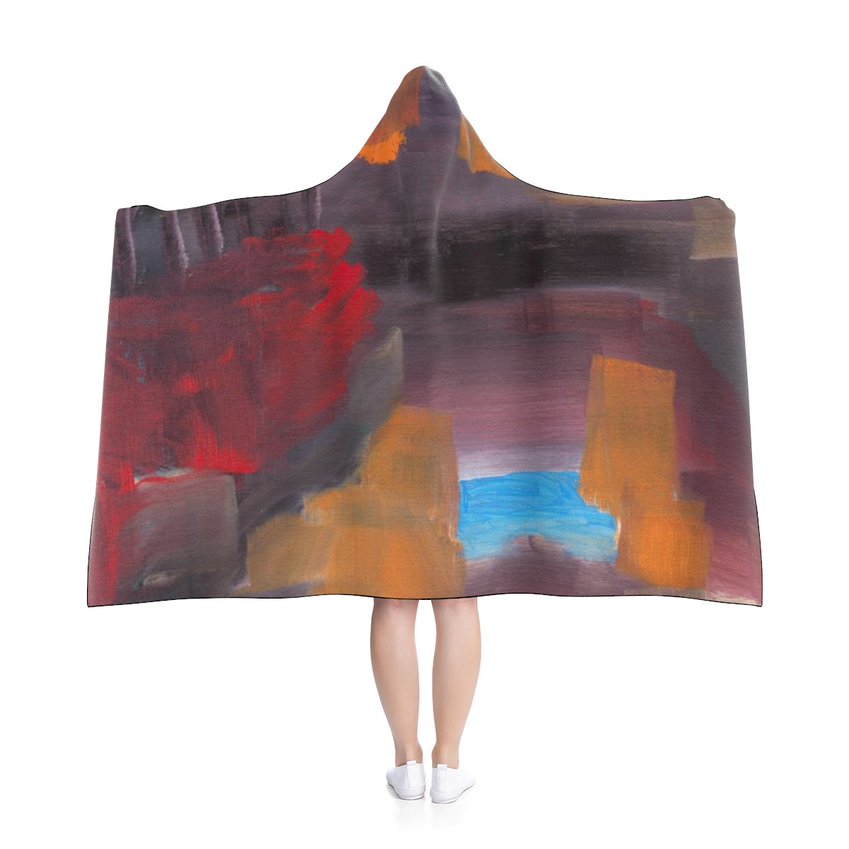"CAVE VIEW Hooded Blanket  50"" x  40"""