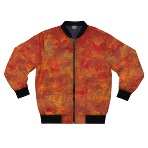 LAVA FLOW  AOP Bomber Jacket  SIZES  XS - 3XL