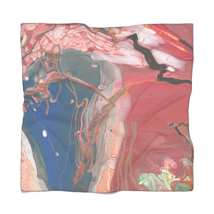 "BIRD OF PREY Poly VOILE Scarf 50"" x 50"""