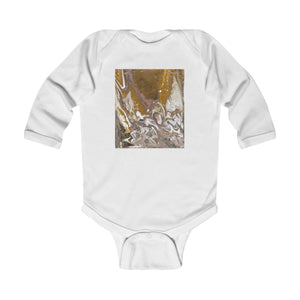 GOLD RUSH  Infant Long Sleeve Bodysuit  NB - 18 MONTHS